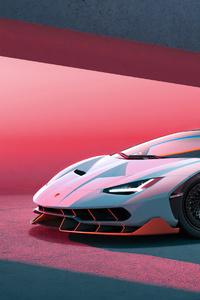 540x960 Lamborghini Grey 4k