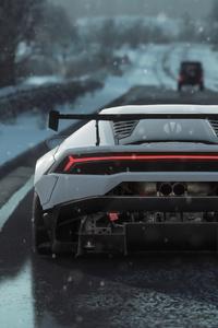 Lamborghini Huracan 4k Rear