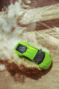Lamborghini Huracan Drifting