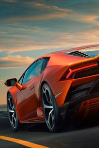Lamborghini Huracan EVO 10k Rear