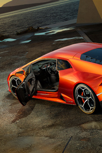 Lamborghini Huracan EVO 2019 Rear