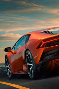 Lamborghini Huracan EVO 2019 Rear View