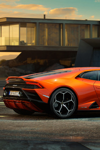 Lamborghini Huracan EVO 2019 Side View