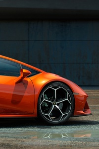 1080x2280 Lamborghini Huracan Evo Coupe 5k
