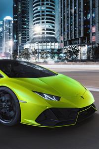 800x1280 Lamborghini Huracan Evo Fluo Capsule