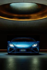 480x800 Lamborghini Huracan Evo Front 2021