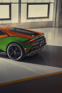 Lamborghini Huracan Evo GT 2020 Rear View