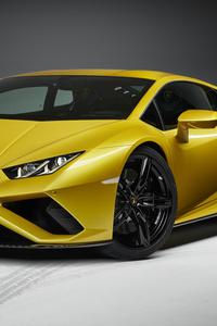 1440x2560 Lamborghini Huracan EVO RWD 2020 Front