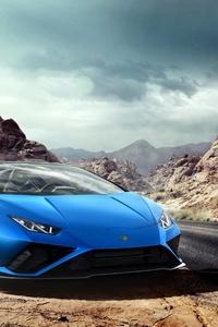 1440x2960 Lamborghini Huracan Evo Spyder 2020