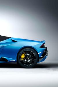 240x320 Lamborghini Huracan Evo Spyder 2020 8k
