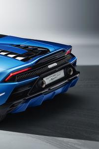 Lamborghini Huracan Evo Spyder 2020 Upper View