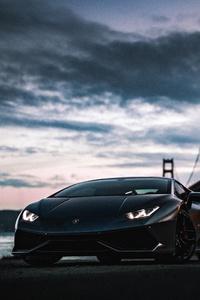 Lamborghini Huracan Golden Gate Bridge