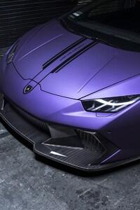 Lamborghini Huracan In Garage