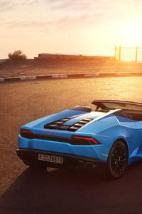 Lamborghini Huracan LP 610 4 Spyder 2018 Rear
