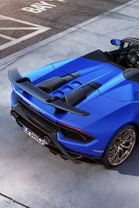 Lamborghini Huracan Perfomante Spyder Rear 2018