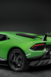 Lamborghini Huracan Performante 2019 Rear