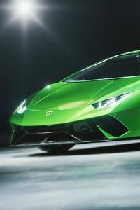 480x800 Lamborghini Huracan Performante Cgi 5k