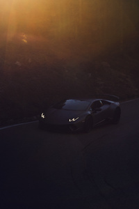 Lamborghini Huracan Performante Photographed