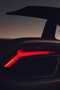 640x1136 Lamborghini Huracan Performante Rear Lights