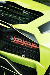 Lamborghini Huracan Rear 8k