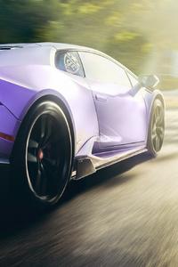 Lamborghini Huracan Rear New