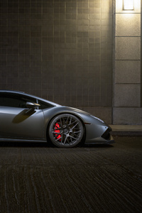 480x854 Lamborghini Huracan RFX10 Matte Black