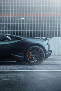 Lamborghini Huracan Road Side 4k