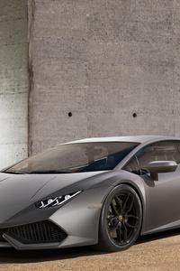 Lamborghini Huracan Silver Matt Paint