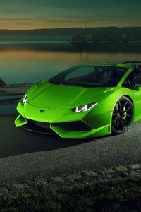 1440x2560 Lamborghini Huracan Sport Car