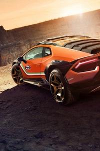 Lamborghini Huracan Sterrato Concept 2019 5k