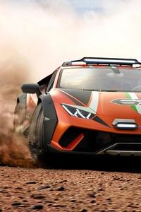 800x1280 Lamborghini Huracan Sterrato Concept 2019 Offroad