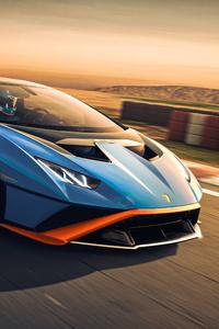 Lamborghini Huracan Sto On Track 5k
