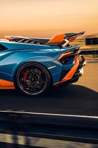 Lamborghini Huracan Sto Side View 5k