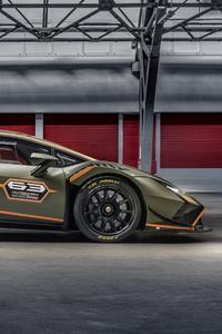 1125x2436 Lamborghini Huracan Super Trofeo Evo2