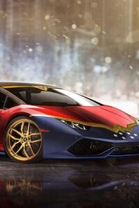 Lamborghini Huracan Wonder Woman
