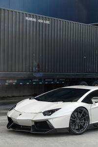 1280x2120 Lamborghini LP700 5k