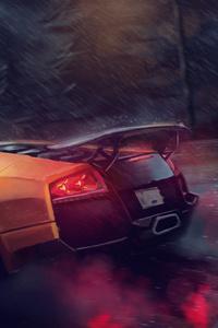 Lamborghini Murcielago SV Digital Art