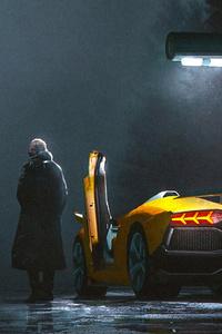 Lamborghini Refill Point 4k