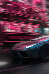 720x1280 Lamborghini Reventon 4k