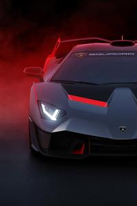 1080x2280 Lamborghini SC18 2018 Front