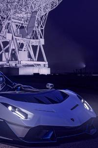 Lamborghini Sc20 4k