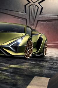 1440x2960 Lamborghini Sian 2019