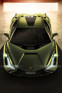 Lamborghini Sian 2019 Front