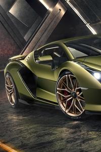 Lamborghini Sian 2019 Front View
