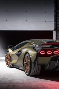 Lamborghini Sian 2021 Rear