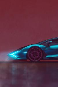 1125x2436 Lamborghini Sian Render