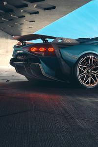 Lamborghini Sian Roadster 2020 Car