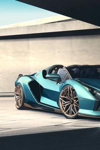 1440x2960 Lamborghini Sian Roadster 2020 New