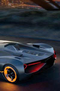 Lamborghini Terzo Millennio 2017 4k
