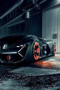 Lamborghini Terzo Millennio 2019 4k